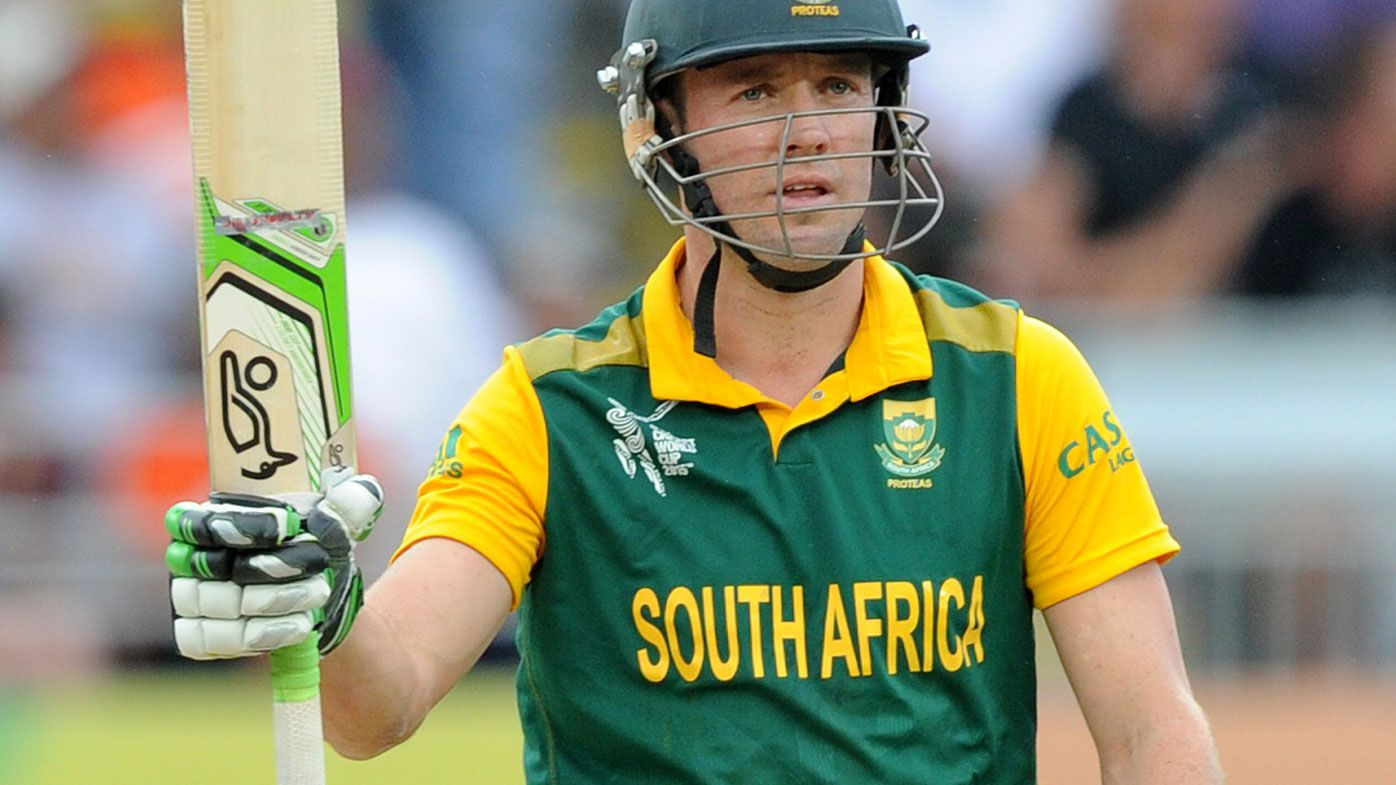 Cricket: Big Bash clubs eager to sign AB de Villiers after international retirement