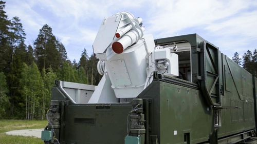 Russia has already developed laser weapons such as this land-based device.