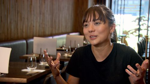 Marie from Birds Nest restaurant said the group had demanded free drinks and meals from her.