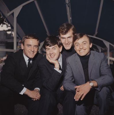 Gerry And The Pacemakers: Freddie Marsden, Les Chadwick, Les Maguire and Gerry Marsden