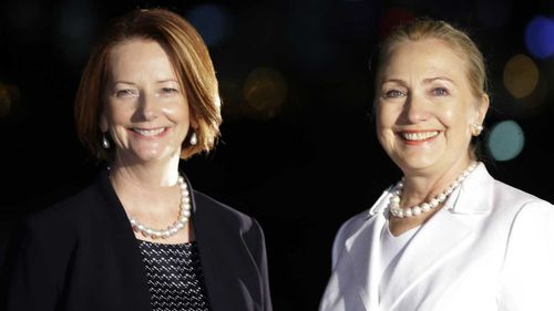 Hillary Clinton emails: Terse exchange with Julia Gillard
