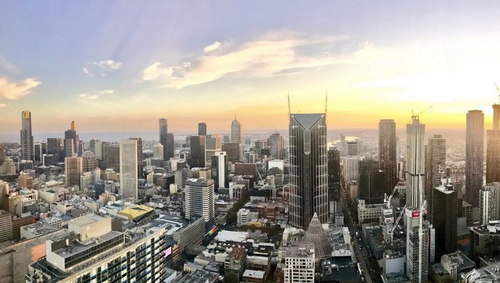 Melbourne has taken out the top spot as happiest city in the world. (Sean Davidson / 9NEWS)