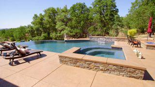 Modern Mountain Pool
