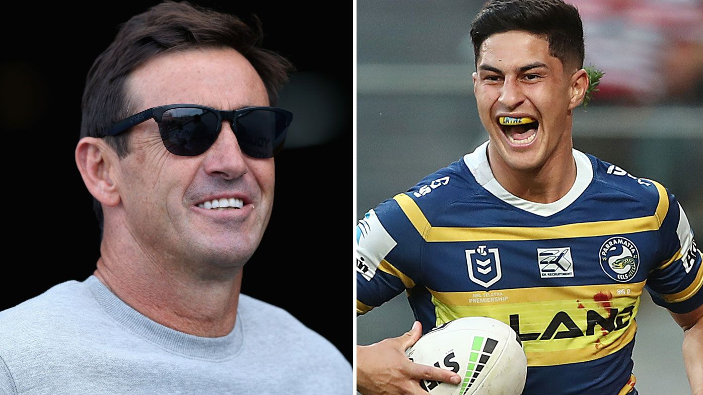 NRL: Parramatta Eels young gun Dylan Brown never watched Andrew Johns play