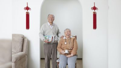 <p>Former doctors, Shuqin Cui and Songyan Ge, both 74, have spent most of their lives practicing medicine.</p><p>Shuqin studied medicine at a time when girls were discouraged from attending university.</p><p></p>