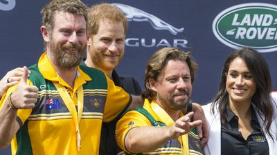 Royals honour first Invictus winners