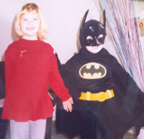 Ryan's sister, Dani, shared this photo from their childhood. (Facebook)