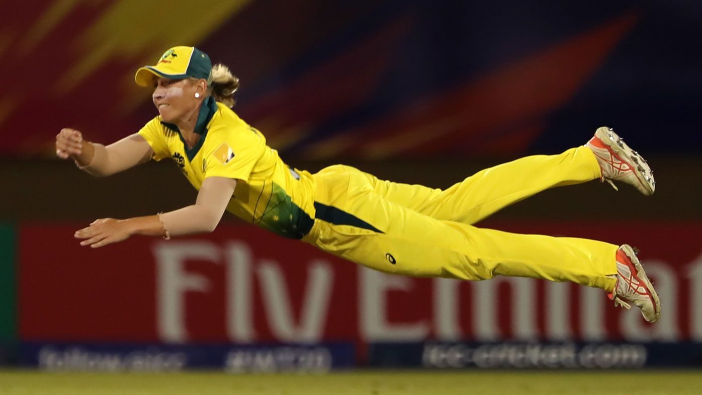 Healy's record equaling performance inspires Aussies in opening T20 World Cup win
