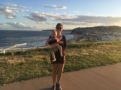 Baby saved new mum's life holding baby