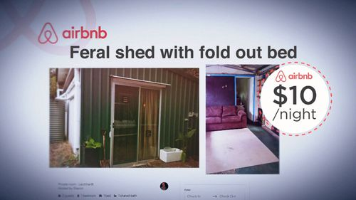 "Airbnb users are selling hyper-cheap rental ""accommodations""."