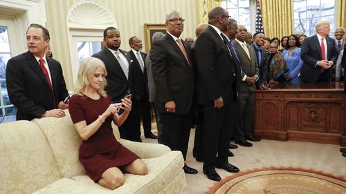 Kellyanne Conway is one of the few senior staffers to have lasted this long in the Trump White House.