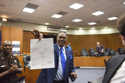 Not 'bitter:' Michigan man cleared after 45 years in prison