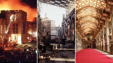 Fire that ravaged Windsor and changed the Queen's world forever
