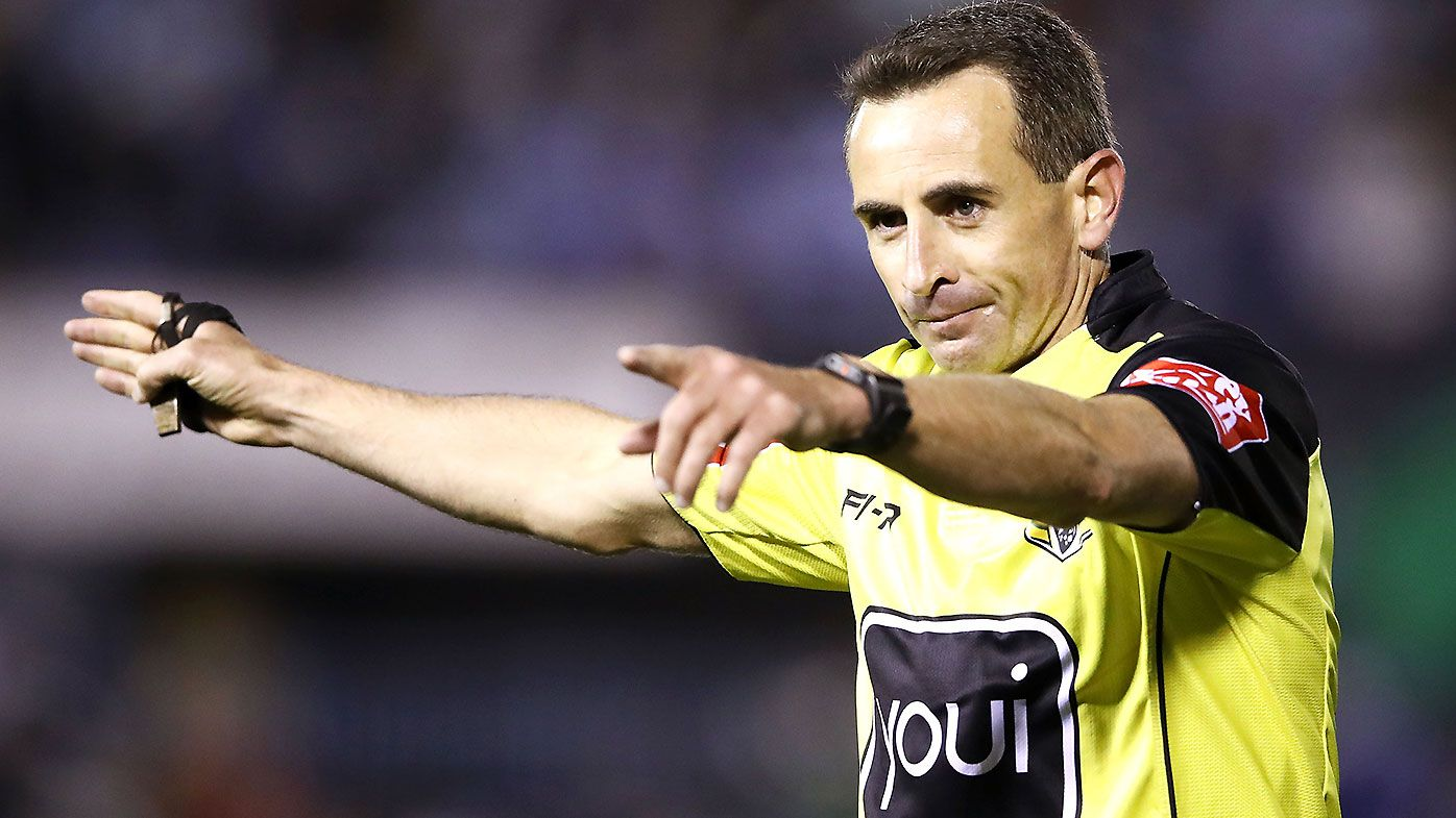 NRL slammed after Gerard Sutton survives mass referee cut following round 19 debacle