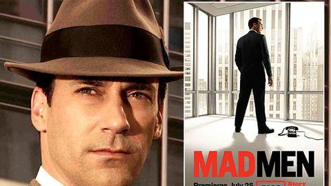 Don Draper returns in Mad Men season four poster