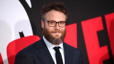 """Seth Rogen attends the premiere of Universal Pictures' """"Blockers"""" at Regency Village Theatre on April 3, 2018 in Westwood, California."""
