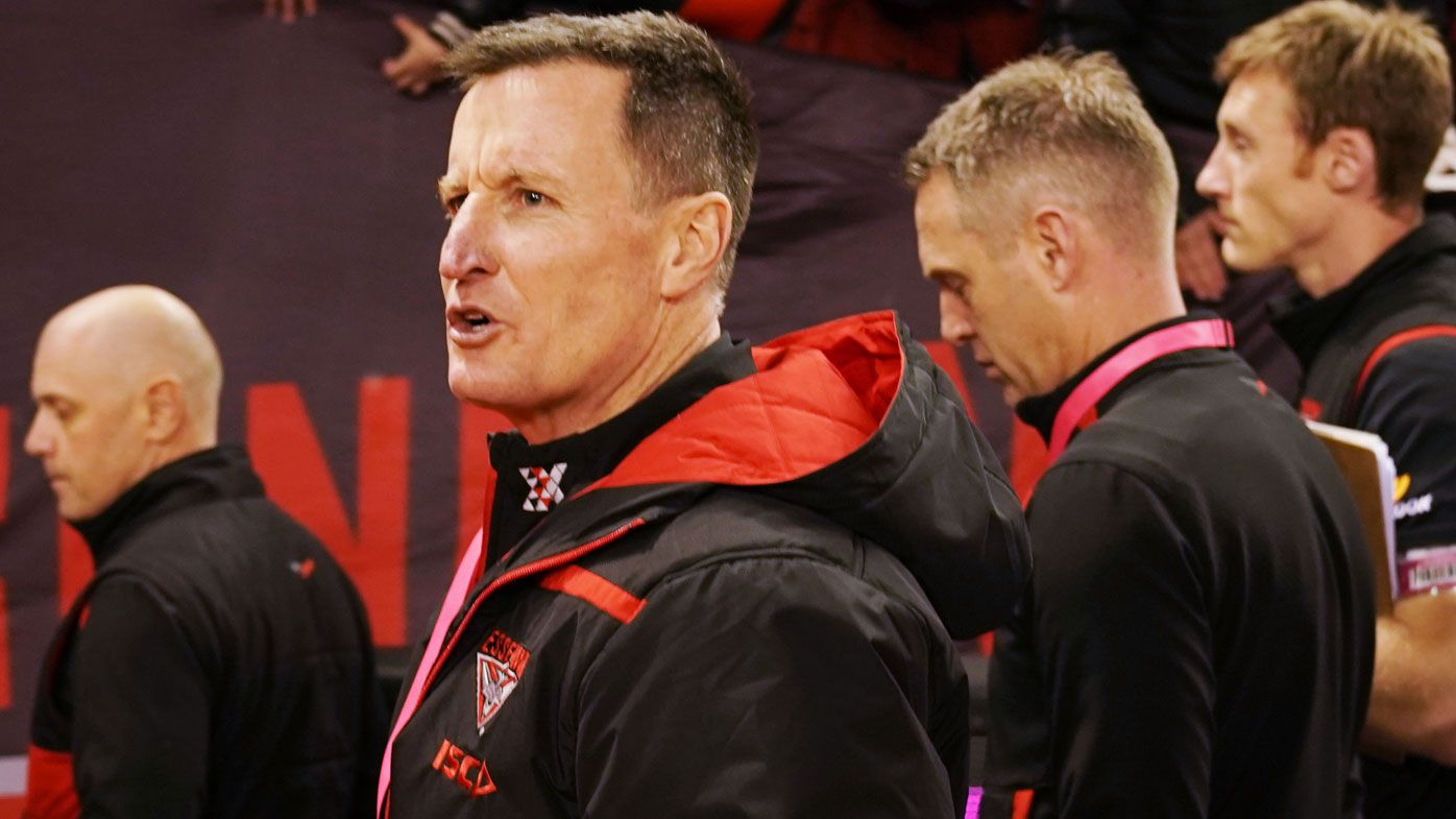 Essendon coach John Worsfold hits back at AFL 'cheap shots', claims job security