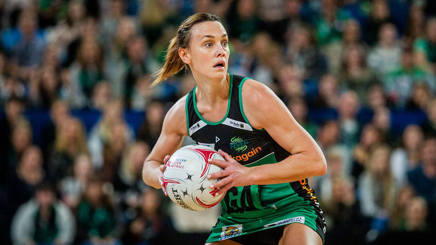 West Coast Fever netball star Natalie Medhurst