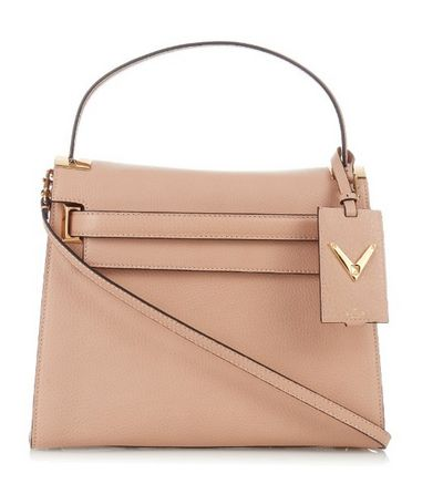 """<a href=""""http://www.matchesfashion.com/au/products/Valentino-My-Rockstud-grained-leather-tote-1034930"""" target=""""_blank"""">Valentino My Rockstud grained leather tote, $3719. </a><br>"""