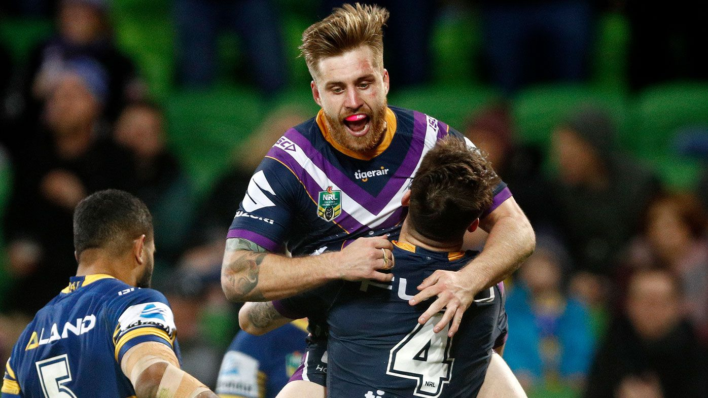 NRL: Cronulla Sharks circle on Melbourne Storm's Cameron Munster