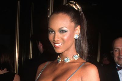 Although she wasn't part of the super-pack, it would be unfair not to mention <I>Sports Illustrated</I> and Victoria's Secret stunner Tyra Banks... who also drove Will Smith crazy on <i>The Fresh Prince of Bel-Air</i>. <br/><br/>Landing a contract with Elite Model Management during high school, Tyra was known for her sexy curves along with being the first African-American model to grace the cover of <I>GQ</i> magazine.