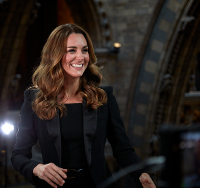 Kate goes glam, October