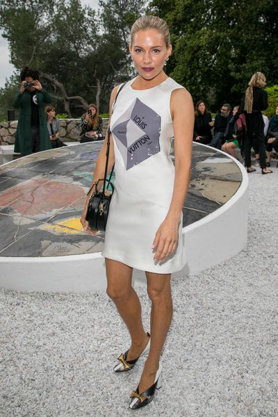 Actress Sienna Miller at Louis Vuitton Cruise '19