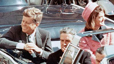 John and Jackie Kennedy in Dallas motorcade (Getty)