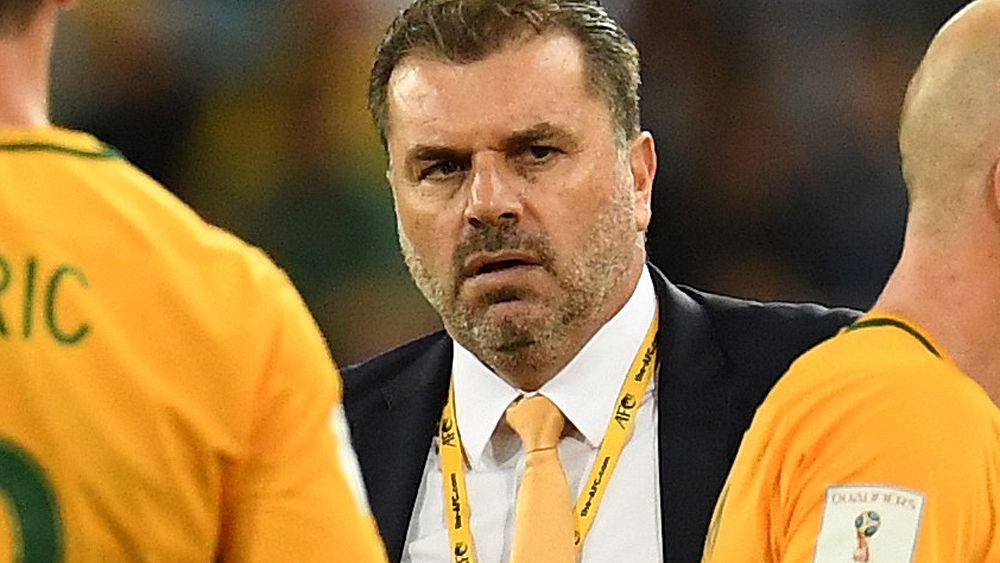 Socceroos legend John Aloisi surprised by coach Ange Postecoglou exit talk