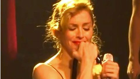 Video: Madonna breaks down on stage during a performance of 'Like A Virgin'