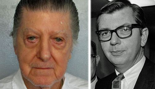 Walter Leroy Moody Jnr, left, is to face execution for the killing of Alabama judge Robert S, Vance, right, in 1989. (Photos: AP).