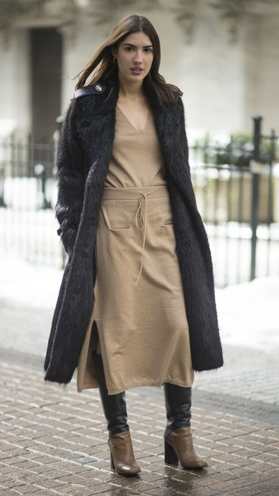 <p>We'd never underestimate the versatility of jeans, but they can make it easy to fall into a style rut when the temperature drops. Here, you'll find 18 no-fuss alternatives to denim that will keep your wardrobe fresh through winter.</p><p>Long skirt<br />Pair it with on-trend ankle or long boots to keep it out of <em>Big Love</em> territory.</p>