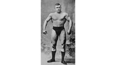 Bodybuilders before the age of steroids