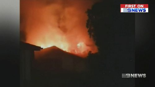 Investigators are unsure what sparked the blaze. (9NEWS)