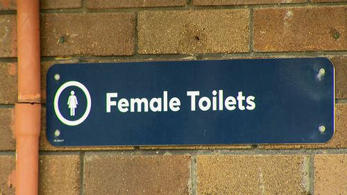 He allegedly followed a young girl into the toilets at the park.