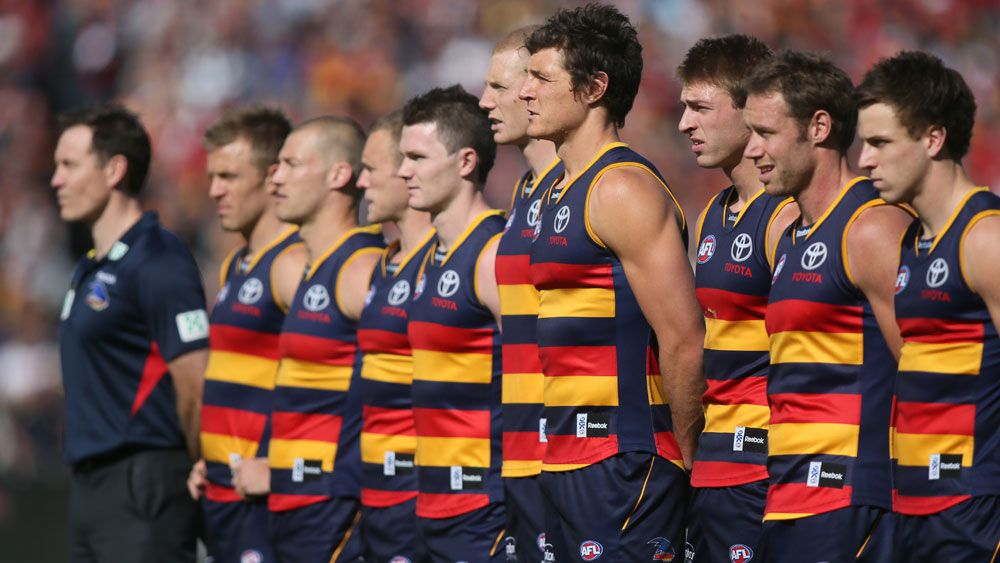 Crows will again adopt anthem stare