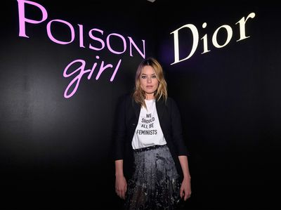 Sultry sophisticated Camilla Rowe is the face of Dior Poison Girl - a scent with a twist.