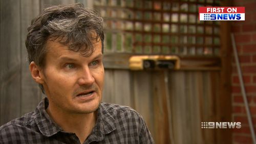 Alleged victim Adam spoke to 9NEWS today in wake of the shocking footage emerging. (9NEWS)