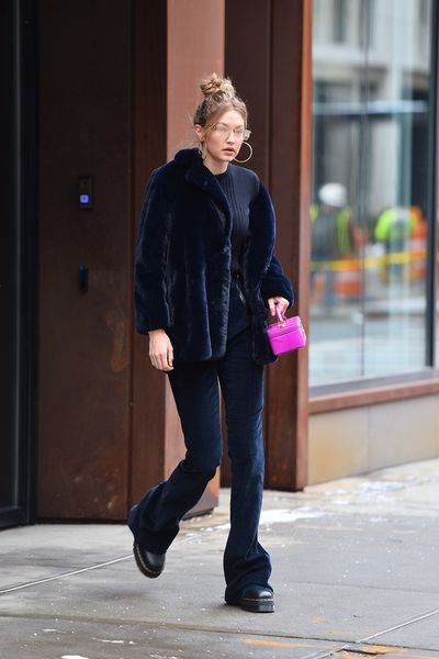 <p>When Gigi Hadid speaks, the world listens. And what she wears, the fashionistas copy.</p> <p>So you can go ahead and pull out those flares from the back of your closet and wear them with pride, because you can bet your bottom dollar that the iconic style is set to be big in 2018 thanks to Hadid.</p> <p>The supermodel has been sporting the 70's trend so much of late that we've seen her in every style of flare possible – denim, velvet, leather, cut-off, – you name it. Yesterday the <em>Victoria's Secret</em> angel stepped out in ultra-long flared jeans that the sartorially-savvy style-makers of the world are flocking to get their hands on.</p> <p>Designers have tried – and failed – many times in the past to bring back the favourite but the love hasn't been there, we dare say, until now.</p> <p> Click through to Let Hadid inspire you and take a look at some flares that will have you falling in love all over again.</p>