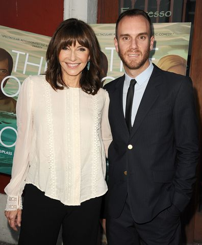 Mary Steenburgen and her son, Charlie McDowell.