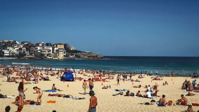 Bondi beach has a lot going for it... the crowds however, are not one of those things.