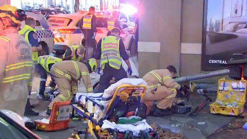 Southbank truck crash