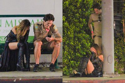 ...but by the look of these pap shots, it all ended in tears. Yikes! <br/><br/>