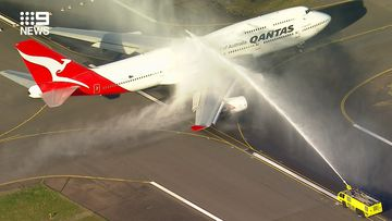 Qantas says goodbye to piece of aviation history