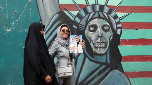 Anti-American sentiment still runs high in Iran.
