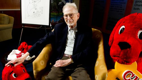 Norman Bridwell, author of 'Clifford the Big Red Dog' children's series, dies aged 86