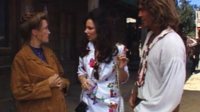 Jane Seymour and Joe Lando