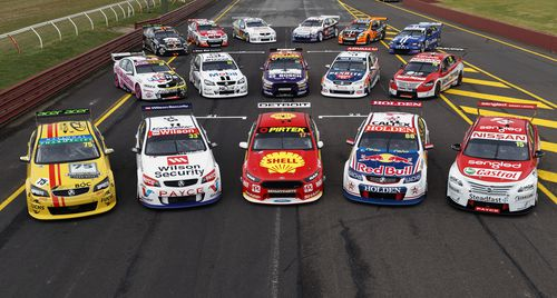 The Bathurst teams are once again ready to tackle the mountain. (AAP)