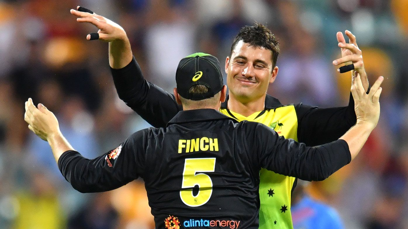 Marcus Stoinis seals T20 opener for Aussies against India in Gabba thriller