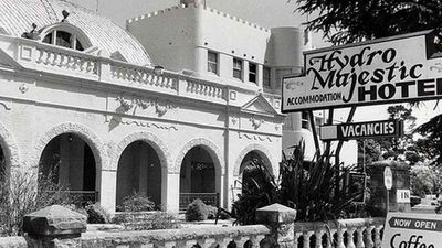 The Hydro Majestic hotel thrived in the early 1900s. (Supplied)